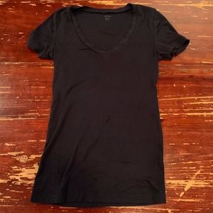 JCREW J. Crew Fitted Tee Women's XS Navy